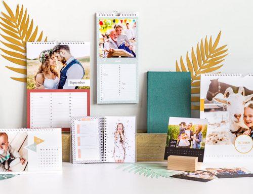 Unikatni koledarji 2022 z vašimi slikami